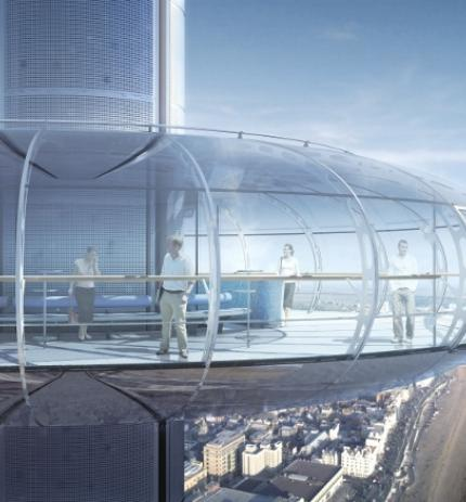 British Airways i360 passenger pod from exterior artists impression 760x440